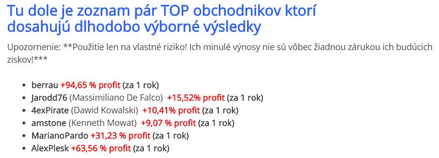 Forex obchodnik.sk